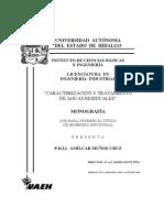 Caracterizacion y tratamiento de aguas residuales.pdf