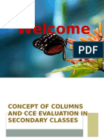 Concept of Columns and CCE Evaluation in Secondary