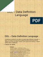 11. DDL