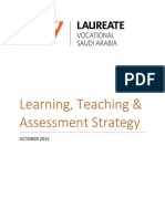 LVSA Learning Teaching Assessment Strategy V1 Ovrober 2015