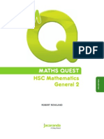 MATHS QUEST HSC Mathematics General 2 (4th Edition)