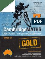 Cambridge Maths Gold NSW Syllabus for the Australian Curriculum Year 7