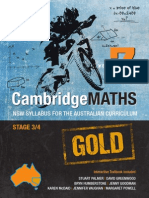 Cambridge Maths Gold NSW Syllabus for the Australian Curriculum Year 7