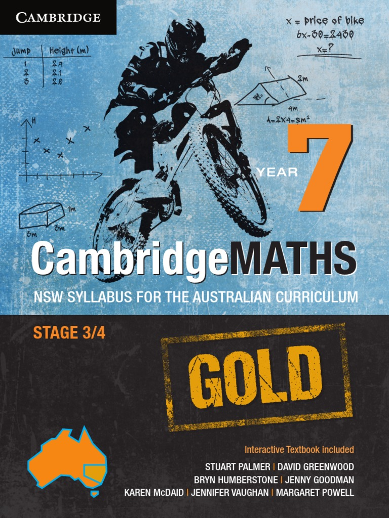 Cambridge Maths Gold NSW Syllabus for the Australian Curriculum Year ...
