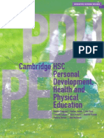 Cambridge HSC Personal Development Health and Physical Education