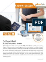 Plustek Passport Scanner