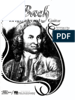 Bach - For Recorder and Guitar