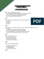 Enterprise Performance Management - MCQ
