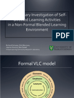 A Preliminary Investigation of Self Directed Learning Activities
