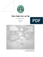 Starbucks - Management Profile