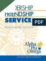 Pledge+Manual APO
