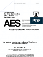 Keele (1992-10 AES Preprint) - Analytic Impulse and ETC