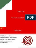 Sun Tzu Seven Questions of Victory