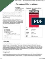 Propaganda_ the Formation of Men's Attitudes - Wikipedia, The Free Encyclopedia
