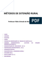 Métodos de Extensão Rural