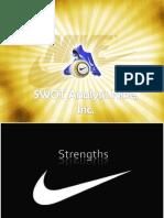 Nike SWOT analysis
