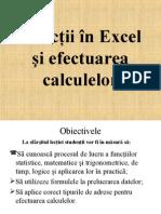 Functii in Excel