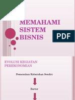 Bab 1 Memahami Sistem Bisnis