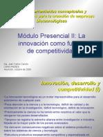 La innovación fuente de competitividad BiotecSur.ppt