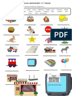 English Worksheet 2 (Çalışma Kağıdı)
