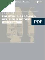 Asensio Polifonía Española Siglo de Oro