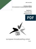 EBU Tech 3276-E