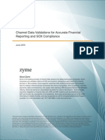 Zyme Channel Data Validations for Financial Reporting and SOX Compliance