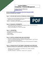 Topic 00 Syllabus Computing Fin Mgt - SM 2015 - Fulltime