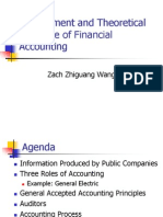 Class 2 Slides - 0827 Environment and Theoretical Structure of FInancial Accounting 1