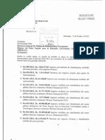 Oficio USB REC 114-2015 - Consignación de Modificaciones Presupestarias 8RA-009 a RA-037)