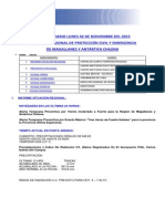 Informe Diario Onemi Magallanes 02.11.2015