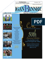 The Michigan Banner November 1, 2015 Edition