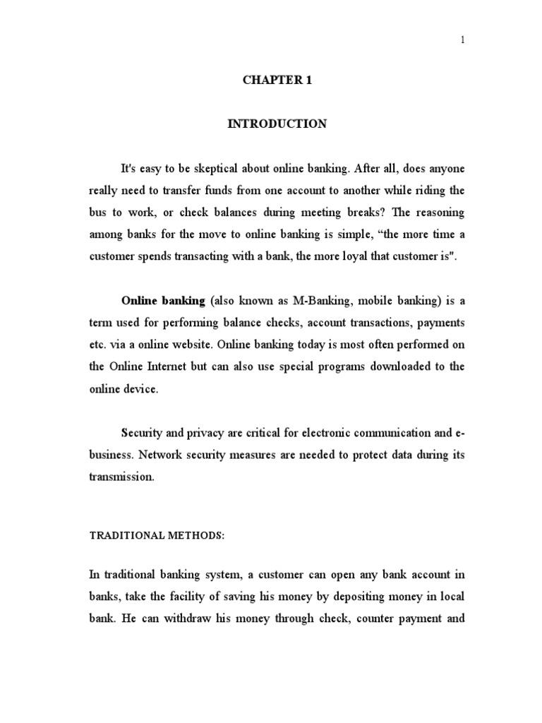 project documentation on online banking | Java Virtual Machine | My Sql