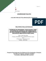Disposito Redutor de Vazão - Iniciação Cientifica UNIP 2015