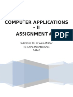 APPS Assignment