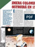 Colonia Lunar - La Primera Colonia Lunas Se Cosntruira en 15 Años R-006 Nº112 - Mas Alla de La Ciencia - Vicufo2
