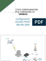INSTRUCTIVO CONFIGURACIÓN AP BELAIR 20E0 v4 - TAMBOS.pptx