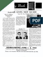 DMSCO Log Book Vol.39 3-12/1961