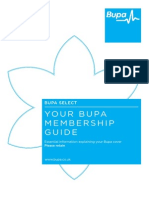 Medical - BUPA Info Booklet
