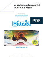Stuvia 13389 Samenvatting Strategische Marketingplanning h.1 Tm h.9 Alsum Druk 6 Stuvia
