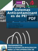 Sistemas Anticontaminantes de PEMEX