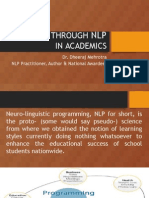 Excellence through NLP for Educators