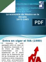La economía de México en la década 1975-1985