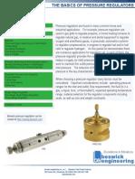 Basics of Pressure Regulator