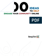 100 Ideas to Help Engage Your Community Online Email Friendly