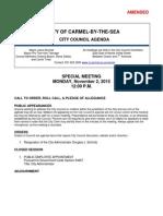 Amended Special Meeting 11-02-15 Schmitz