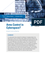 Arms Control in Cyberspace