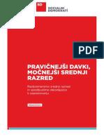 Predlog Ekonomskega Programa SD