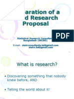 preparation of a good research proposal