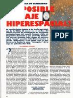 Hiperespacio Viaje - Es Posible El Viaje Hiperespacial R-006 Nº109 - Mas Alla de La Ciencia - Vicufo2